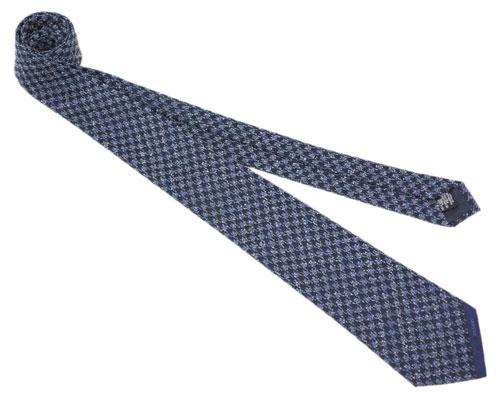 シャネル A77135 ネクタイ メンズ ジャガード デザイン ネイビー/ブルー 31112 CHANEL