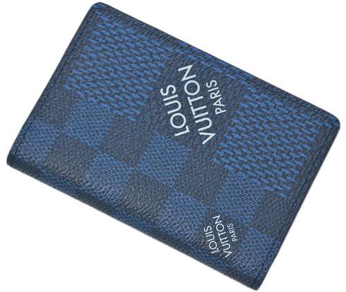限定 新品 LOUIS VUITTON ダミエ グラフィット カードケース ルイヴィトン N60430 ストア ヴィトン 激安通販ショッピング ポッシュ ドゥ マリーヌ メンズ LV オーガナイザー 3D キャンバス 名刺入れ