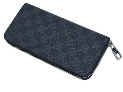 ルイ・ヴィトン N63095 財布 ダミエ・グラフィット ヴィトン LV ラウンドファスナー長財布 14枚カード ジッピー・ウォレット ヴェルティカル 新型 LOUIS VUITTON
