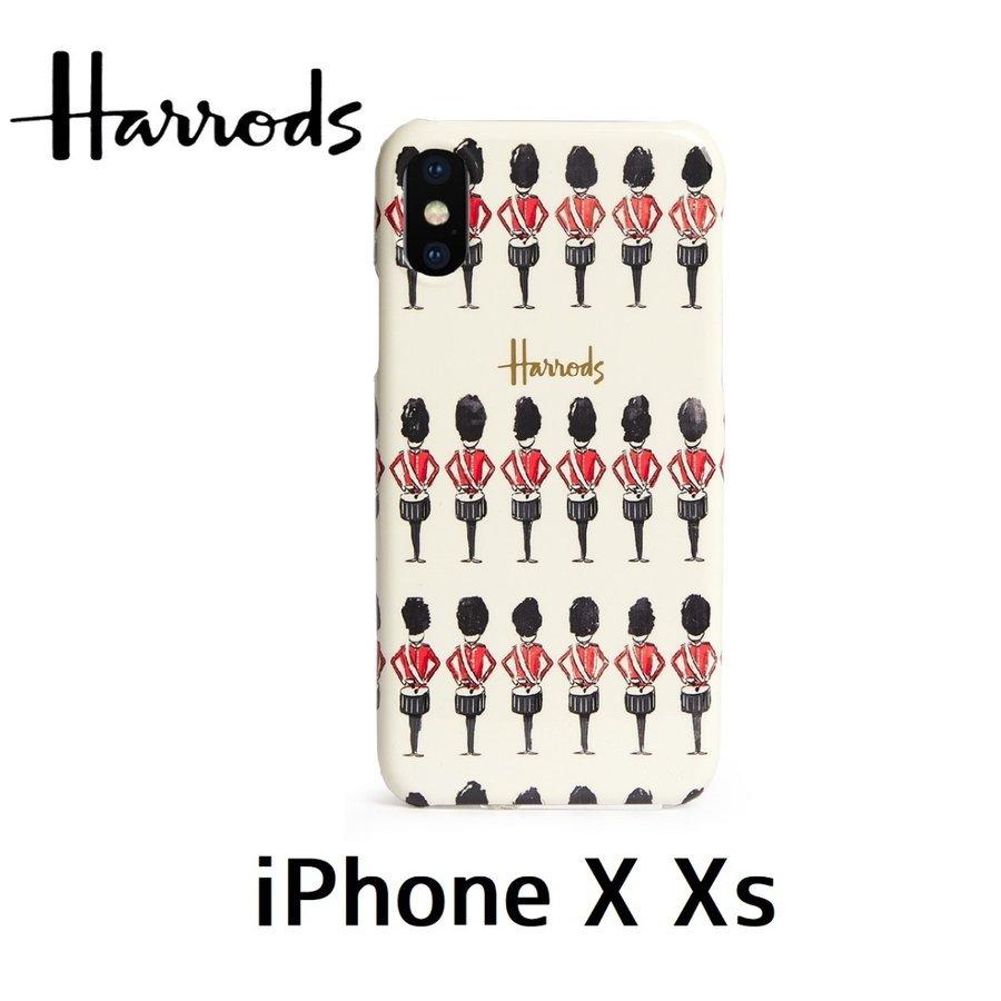 Harrods タイムセール ロンドン イギリス スマホケース お誕生日 ギフト プレゼント ハロッズ 並行輸入品 Xs iPhone スマートフォンケース ケース X Guardsman 英国 兵士たち