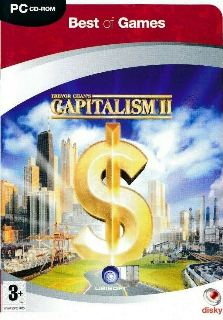 経営ゲーム 学習ゲーム キャピタリズム CD レア 定価 経営 豊富な品 ゲーム シュミレーション キャピタリズム2 英語版