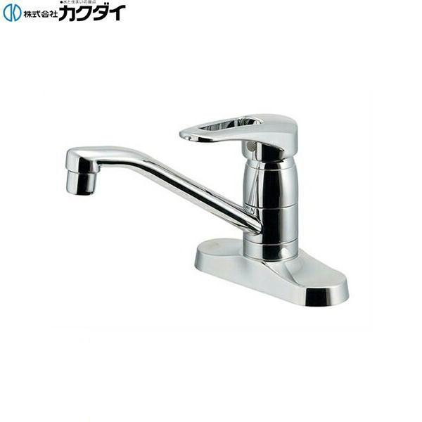 [116-107]カクダイ[KAKUDAI]シングルレバー混合栓[一般地仕様]【送料無料】