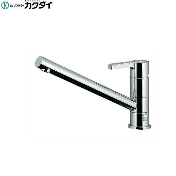 [117-108K]カクダイ[KAKUDAI]シングルレバー混合栓[寒冷地仕様][分水孔つき][送料無料]