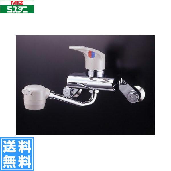 ミズタニバルブ[MIZUTANI]壁付シングルレバー混合栓[MK300Jシリーズ]MK300JBK[一般地仕様]【送料無料】