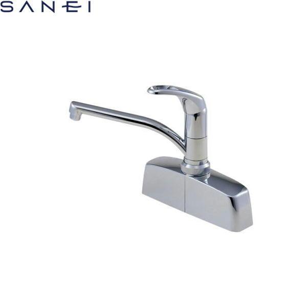 三栄水栓[SAN-EI]シングル取替用台付混合栓CK676-2[一般地仕様][送料無料]