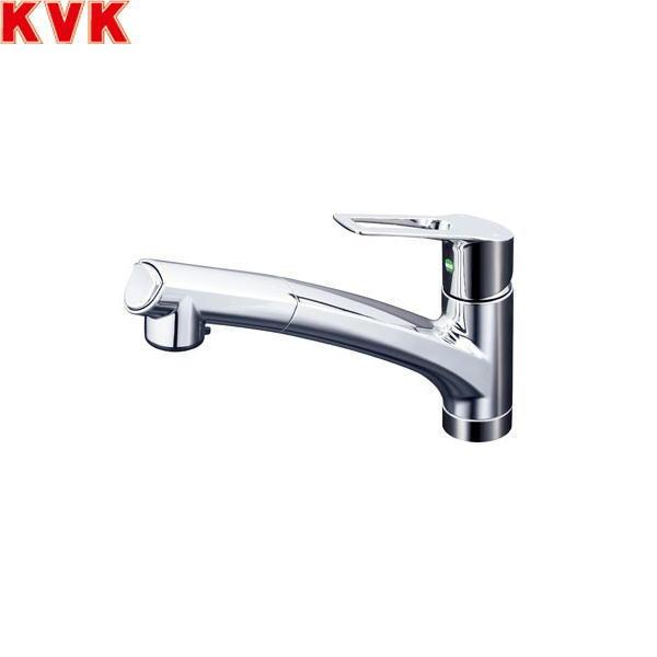 [KM5021ZTEC]KVK流し台用シングルレバー式シャワー付混合水栓[寒冷地仕様][送料無料]