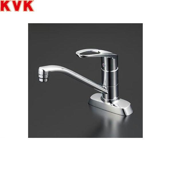 数量は多 送料込 KVK-KM5081TV8R2 KM5081TV8R2 今だけ限定15%OFFクーポン発行中 KVK流し台用シングルレバー混合水栓 一般地仕様 取付穴ピッチ102mm 送料無料