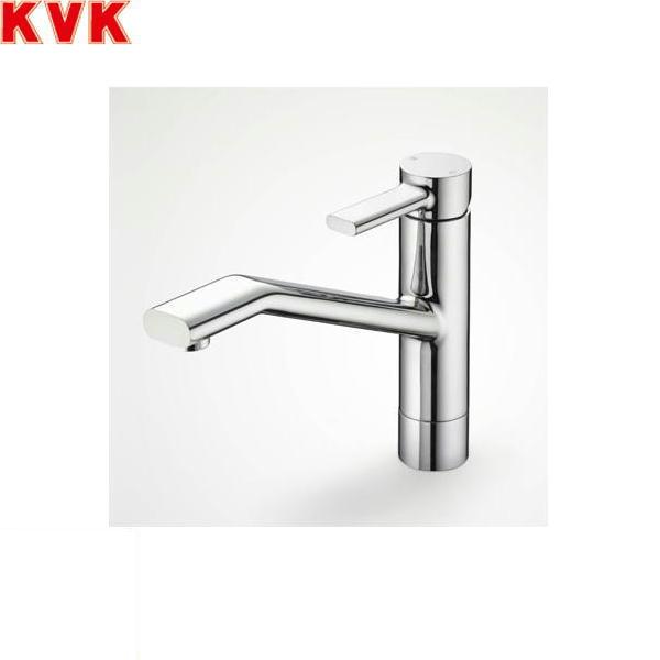 [KM906]KVK流し台用シングルレバー混合水栓[equal][一般地仕様]【送料無料】