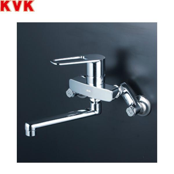 送料込 受注生産品 KVK-MSK110KZR2T 高品質 MSK110KZR2T 送料無料 KVKシングルレバー混合栓 寒冷地仕様