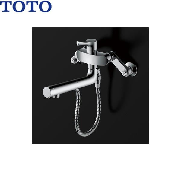 [TKS05314J]TOTOシングル混合水栓[ハンドシャワー・吐水切り替えタイプ][一般地・寒冷地共用][送料無料]