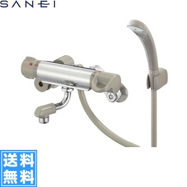 三栄水栓[SAN-EI]サーモスタット混合水栓(70mm吐水口)SK1861D-S[一般地仕様][送料無料]