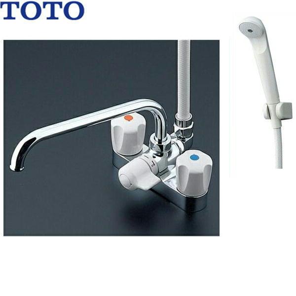 TOTOデッキ型2ハンドルシャワー混合水栓TMS26CU[寒冷地仕様][送料無料]