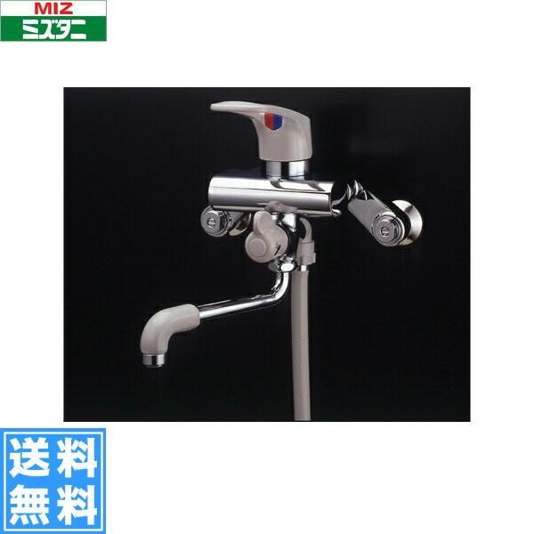ミズタニバルブ[MIZUTANI]壁付シングルレバー混合栓MB300BK[一般地仕様]【送料無料】