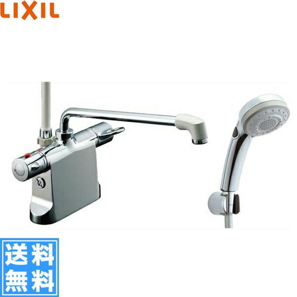 リクシル[LIXIL/INAX]浴室用サーモスタット水栓[エコフルスイッチ多機能シャワー][寒冷地仕様]BF-B646TNSBW(300)【送料無料】