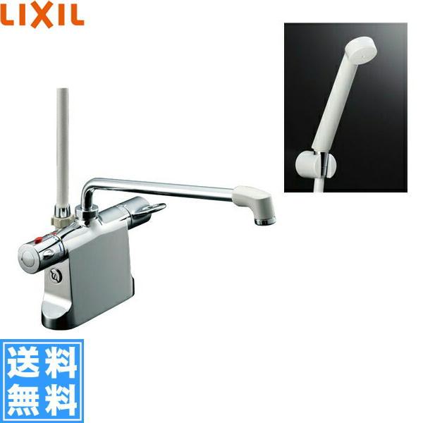 [BF-B646TSD(300)-A100]リクシル[LIXIL/INAX]シャワーバス水栓[サーモスタット・デッキタイプ][ビーフィットシリーズ][一般地仕様]【送料無料】