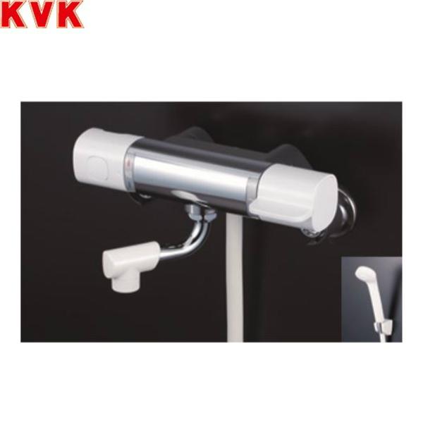 [FTB100KWKCR8]KVKサーモスタット式シャワー[80mmパイプ付][寒冷地仕様]