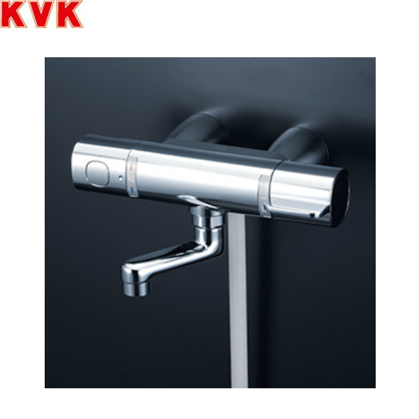[FTB100KKSR8T]KVKサーモスタット式シャワー[80mmパイプ付][スカートソケットタイプ][一般地仕様]