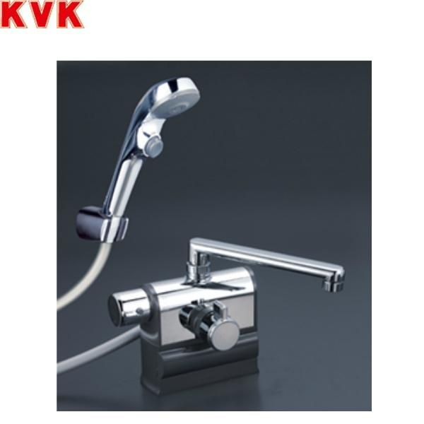 [KF3008LS2]KVKデッキ形サーモスタット式シャワー[190mmパイプ仕様][可変ピッチ式][一般地・寒冷地共用]