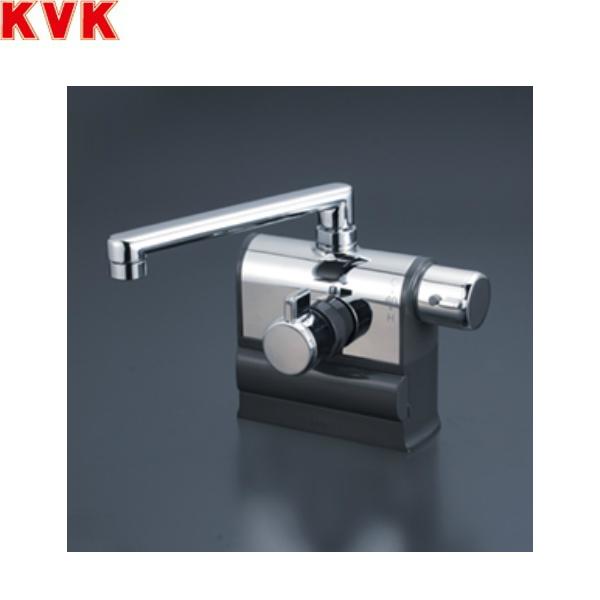 [KM3008R]KVKデッキ形サーモスタット式混合栓[190mmパイプ仕様][可変ピッチ式][一般地・寒冷地共用]