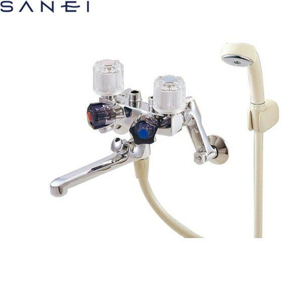 三栄水栓[SAN-EI]ソーラ4バルブシャワ混合水栓SK161[一般地仕様][送料無料]