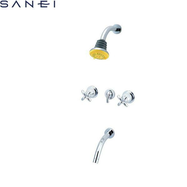 三栄水栓[SAN-EI]ツーバルブ埋込形シャワ混合水栓SK9145[一般地仕様][送料無料]