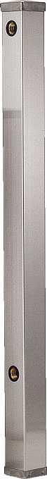 カクダイ[KAKUDAI]ステンレス水栓柱(60角)6161-1200[送料無料]