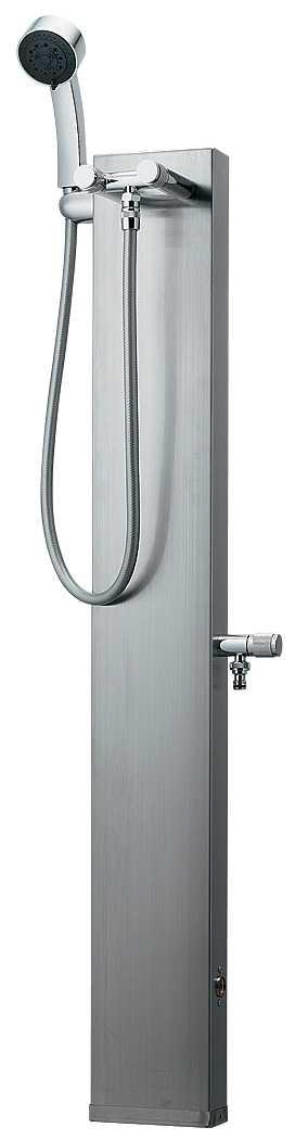 カクダイ[KAKUDAI]ステンレスシャワー混合水栓柱624-104[送料無料]