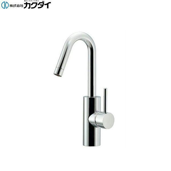 [183-269]カクダイ[KAKUDAI]シングルレバー混合栓[一般地・寒冷地共用]【送料無料】