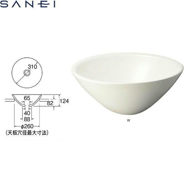 三栄水栓[SAN-EI]手洗器(信楽焼)HW1022-W[送料無料]