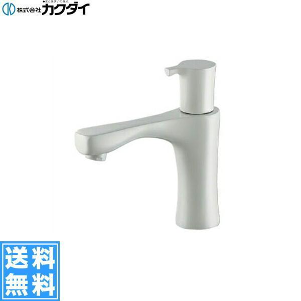 [716-865-13]カクダイ[KAKUDAI]立水栓[コットンホワイト]【送料無料】