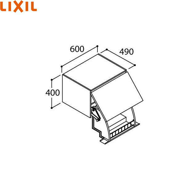 [AR1U-605W]リクシル[LIXIL/INAX][PIARAピアラ]アッパーキャビネットダウン機構付き[間口600mm][スタンダード][送料無料]