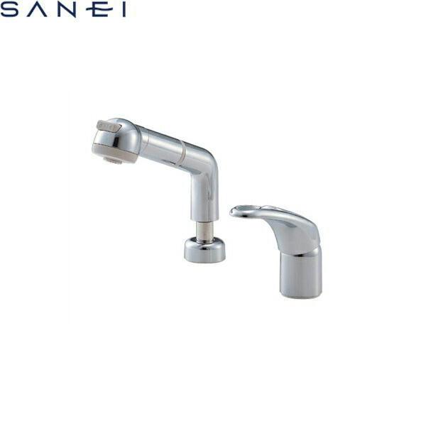 三栄水栓[SAN-EI]シングルスプレー混合栓(洗髪用)K3761JV-C[一般地仕様][送料無料]
