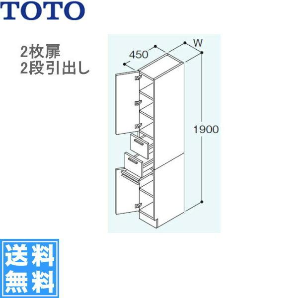 TOTO[リモデア]トール用ウォールキャビネットLTSN252BR/LN[間口250mm]【送料無料】