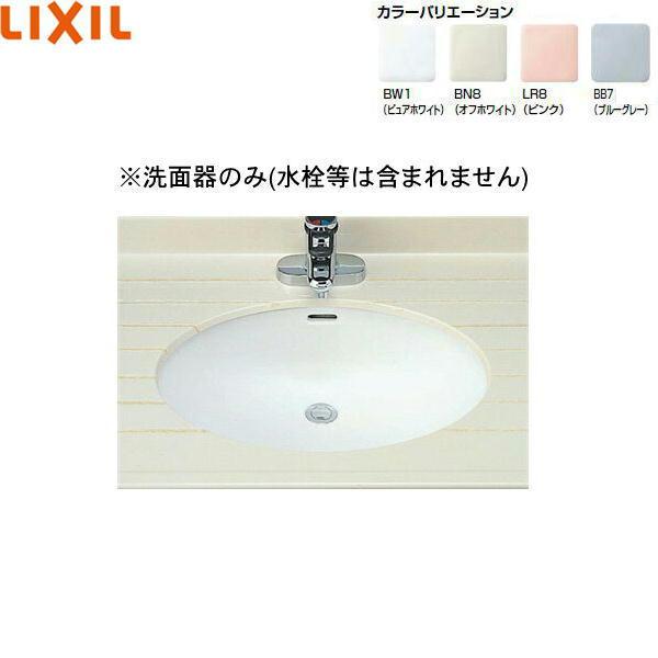INAX-L-2295 限定価格セール 卸直営 L-2295 リクシル LIXIL はめ込みだ円形洗面器 INAX アンダーカウンター式