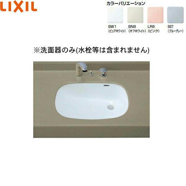 [L-2297]リクシル[LIXIL/INAX]はめ込みだ円形洗面器[アンダーカウンター式][送料無料]