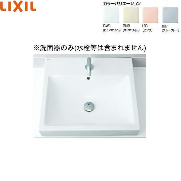[L-536]リクシル[LIXIL/INAX]角形洗面器[ベッセル式][送料無料]