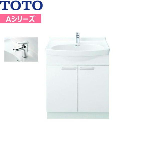 [LDA756BER]TOTO[Aシリーズ]洗面化粧台[化粧台のみ]間口750mm[エコシングル混合水栓][送料無料]