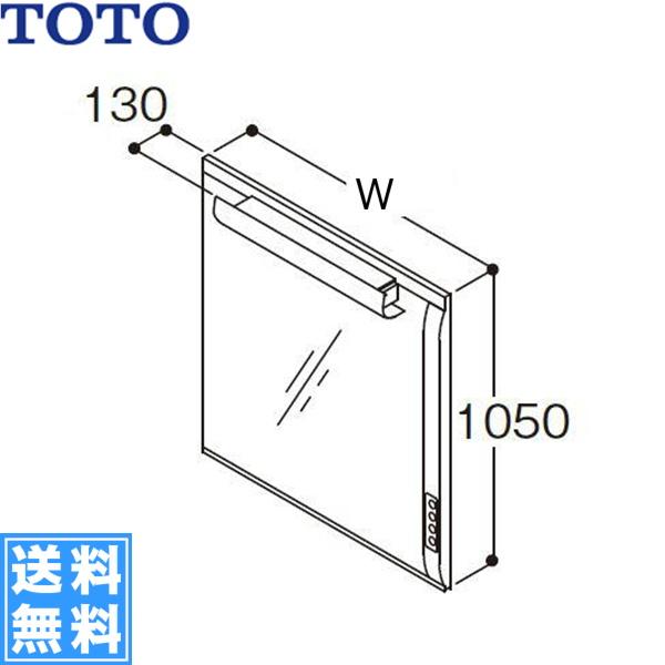 正規通販 [LMJ1000EH]TOTO[スリムシリーズ]化粧鏡[一面鏡][間口1000mm][送料無料]:みずらいふ-木材・建築資材・設備