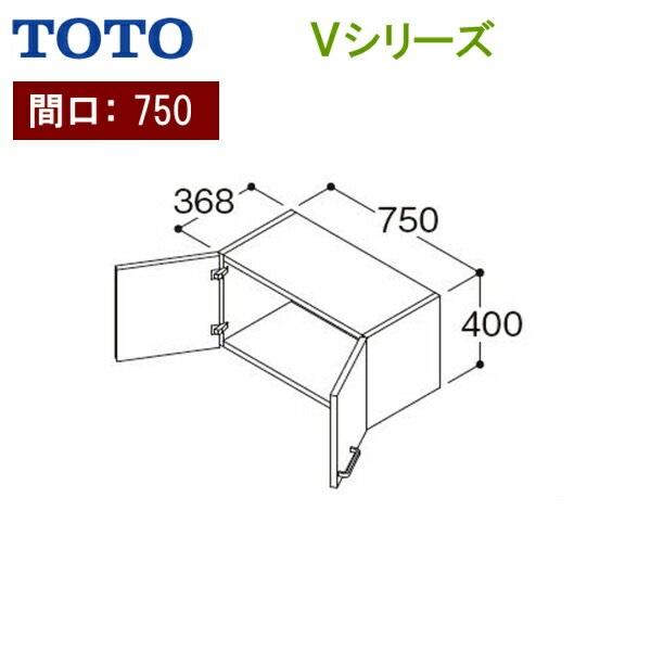 正規逆輸入品 売店 TOTO-LWPB075ANA1A LWPB075ANA1A TOTO Vシリーズ ウォールキャビネット 間口750mm ホワイトA