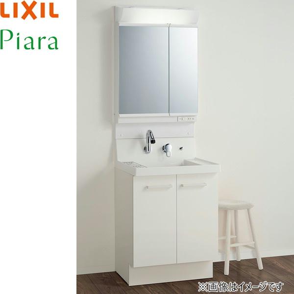 [AR3N-605SY+MAR2-602TXSU]リクシル[LIXIL][PIARAピアラ]洗面化粧台化粧台セット13[本体間口600mm]スタンダード[送料無料]