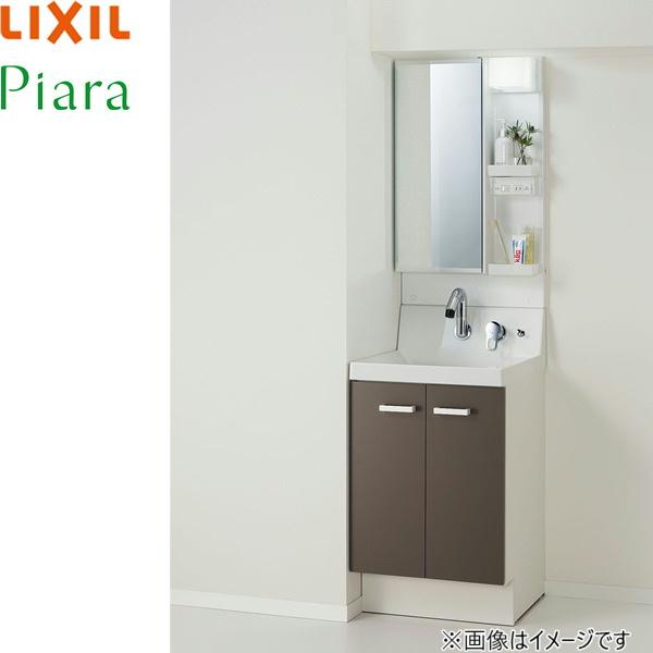 [AR3N-505SY+MAR3-501TYJU]リクシル[LIXIL][PIARAピアラ]洗面化粧台化粧台セット15[本体間口500mm]スタンダード[送料無料]