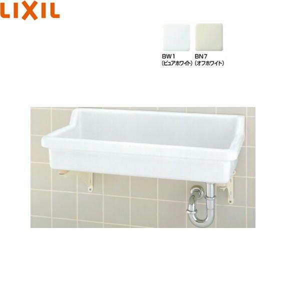 [S-2+SF-3PA+LF-615KS+SF-10E]リクシル[LIXIL/INAX]バック付大形流し[壁排水セット][水栓なし]【送料無料】