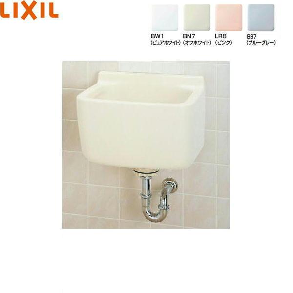 [S-21S+SF-21M(P)]リクシル[LIXIL/INAX]多目的流し[壁排水セット][水栓なし]【送料無料】