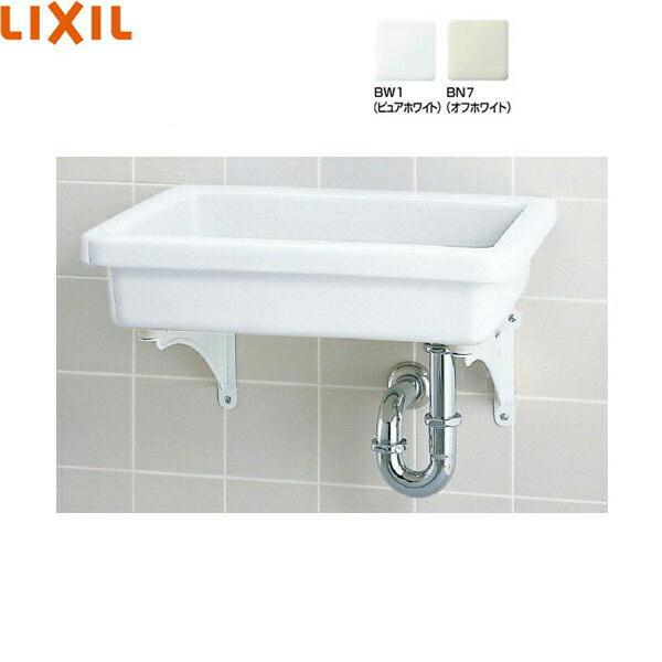[S-5+SF-3PA+LF-615KS+SF-10E]リクシル[LIXIL/INAX]バック無小形流し[壁排水セット][水栓なし][送料無料]