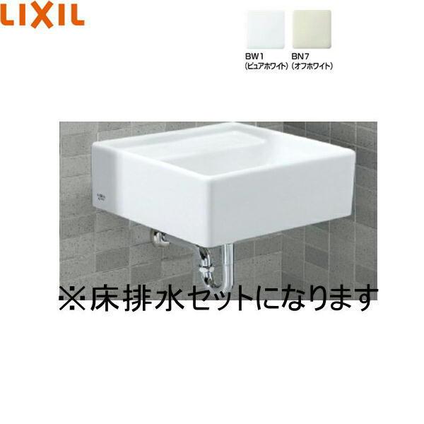[S-531B+LF-30SAL+SF-10E+LF-6L]リクシル[LIXIL/INAX]コンパクトシンク[床排水セット][水栓なし]【送料無料】
