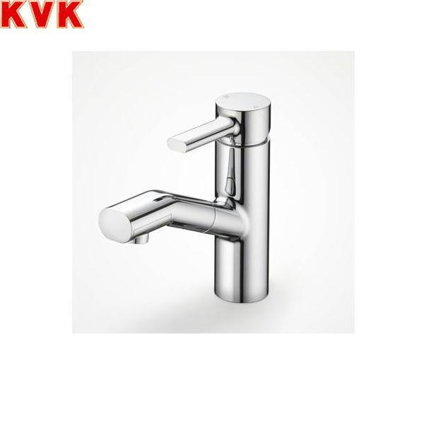 [KF909]KVK洗面用シングルレバー混合水栓[equal][一般地仕様][ホース引出し式][送料無料]