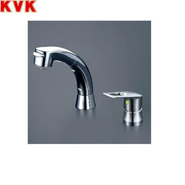 [KM5271TS2EC]KVK洗面用シングルレバー式洗髪シャワー混合水栓[一般地仕様]【送料無料】