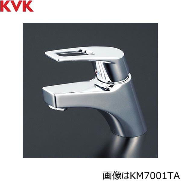 [KM7001TA]KVK洗面用シングルレバー混合水栓[一般地仕様][取付穴径兼用型][送料無料]