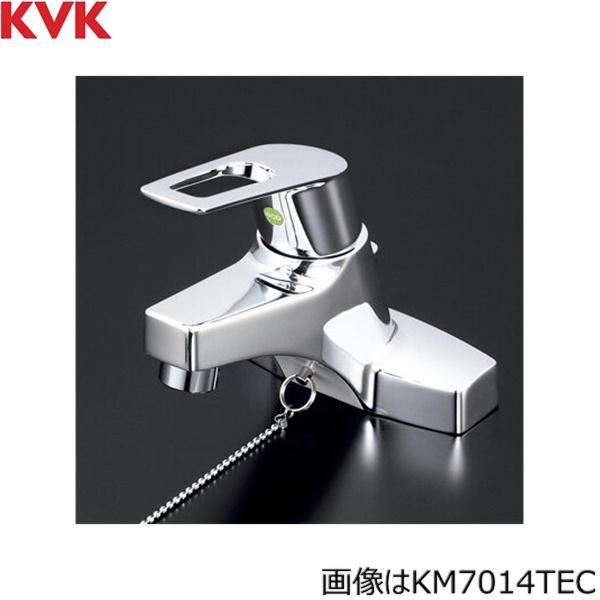 [KM7014ZTEC]KVK洗面用シングルレバー混合水栓[寒冷地仕様][ゴム栓付][送料無料]
