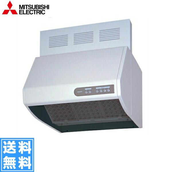 三菱電機[MITSUBISHI]レンジフードブース形[深型][寒冷地・高気密住宅仕様][電気式シャッター組込形]V-604KQH6【送料無料】